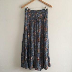 Vintage Fall Floral Prairie Clio Skirt